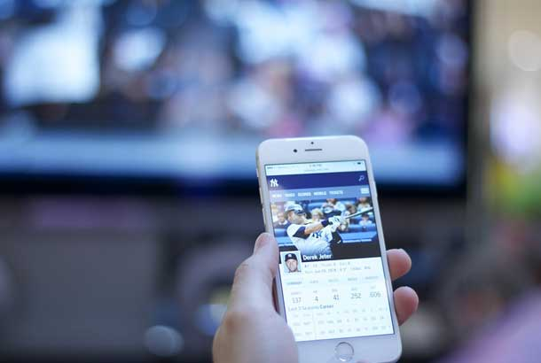 Get local channels through mobile apps
