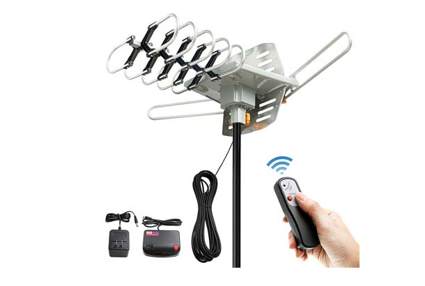 Vansky Outdoor OTA Amplified HD TV Antenna