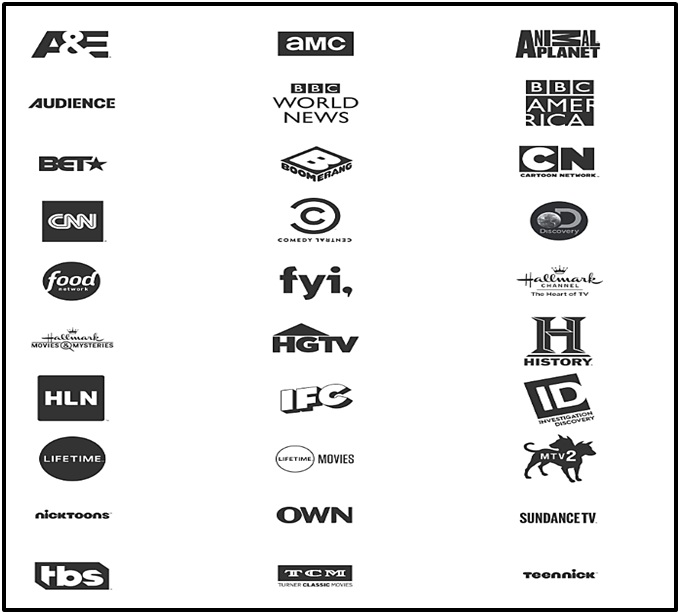 AT&T Watch App channels