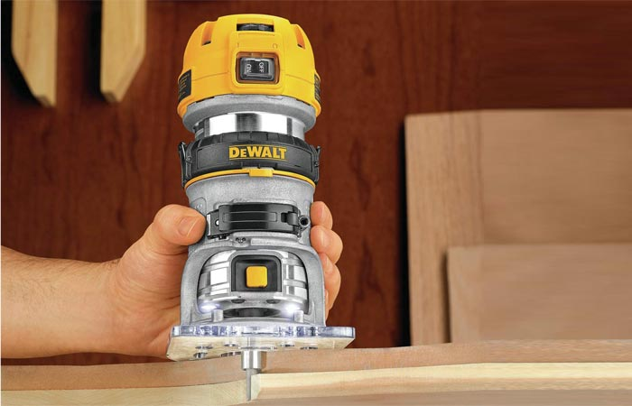 DEWALT DWP611 Router Review Fixed Base Variable Speed