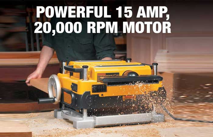 Thickness Planer Reviews: DEWALT DW735X Two Speed 13-Inch