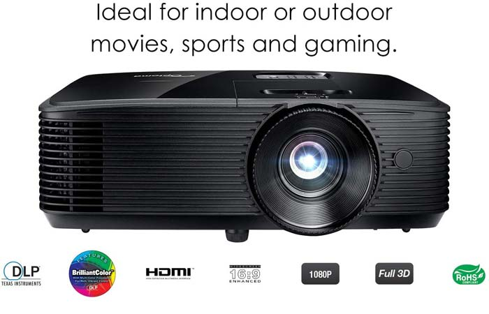 Review of Optoma HD143X Home Theater Projector
