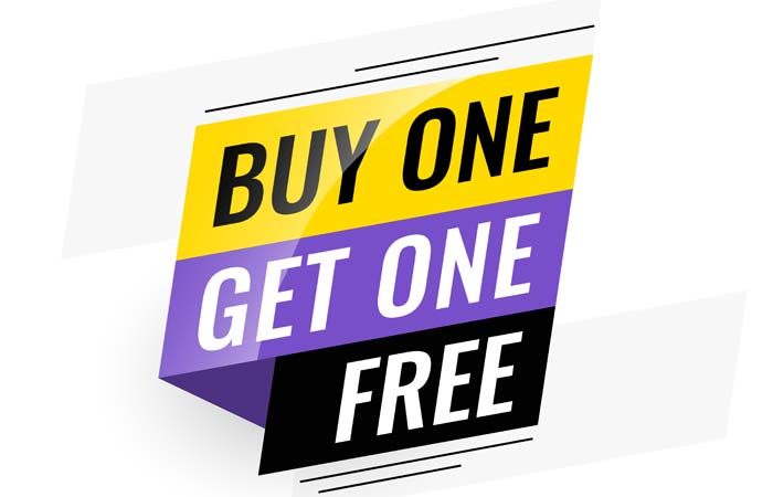 Buy One Get One Free iPhone for you